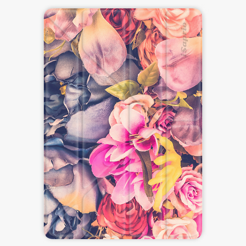Pouzdro iSaprio Smart Cover - Beauty Flowers - iPad Air 2