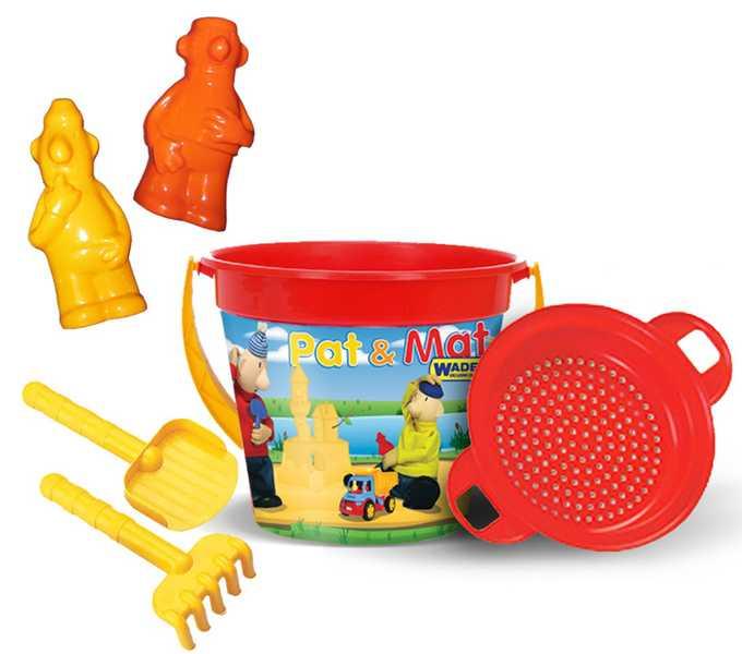 PL Sada na písek set PAT A MAT hračky na písek