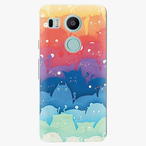 Plastový kryt iSaprio - Cats World - LG Nexus 5X