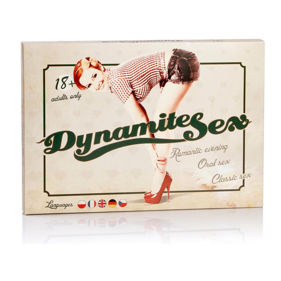 Erotická hra - Dynamite sex