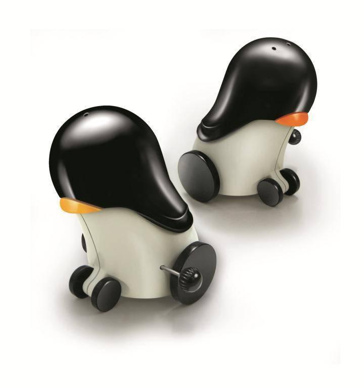 Kořenky na sůl a pepř tučňáci
