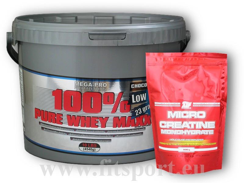 100% Pure Whey Maxx 4540g + Creatin