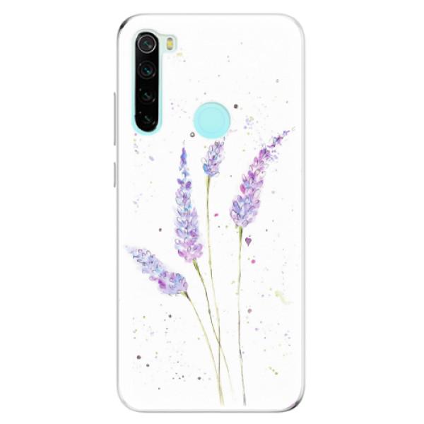 Odolné silikonové pouzdro iSaprio - Lavender - Xiaomi Redmi Note 8
