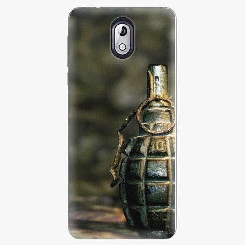 Plastový kryt iSaprio - Grenade - Nokia 3.1