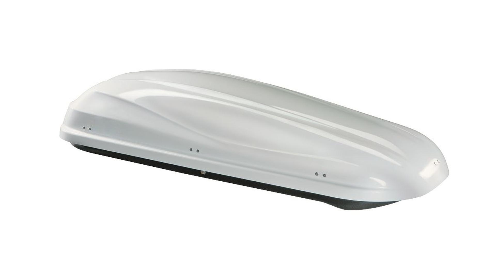 Taurus střešní box Altro 460 (185x80x41) 460 l.- biely (obojstranne otevíratelný)