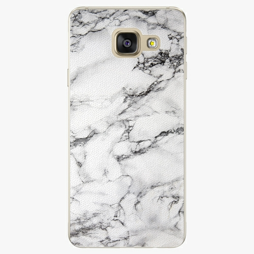 Plastový kryt iSaprio - White Marble 01 - Samsung Galaxy A5 2016
