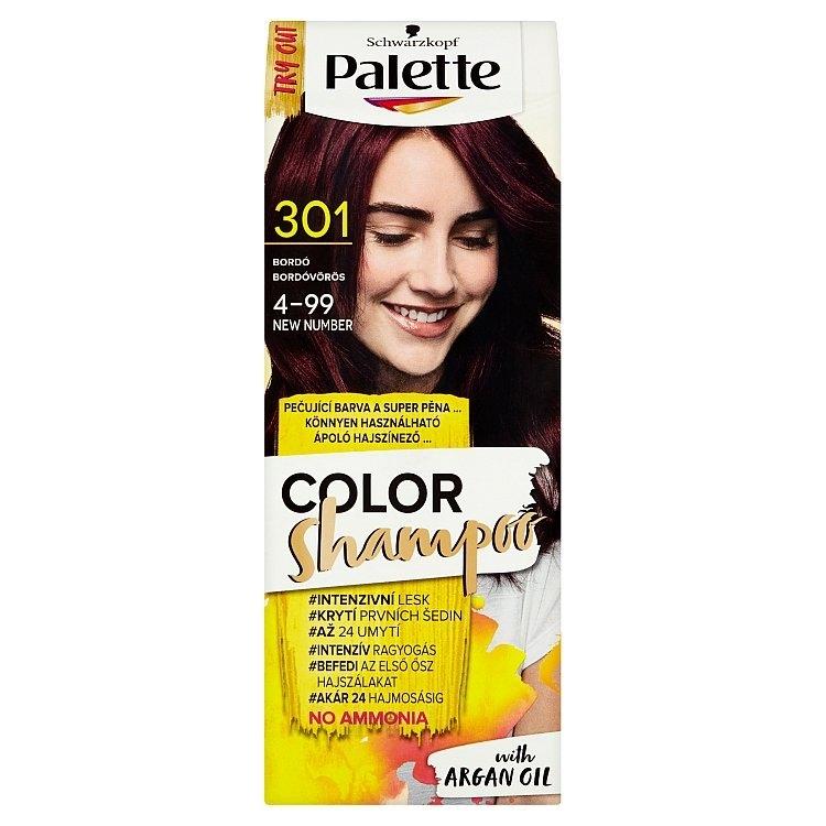 Schwarzkopf Color Shampoo barva na vlasy Bordó 301 (4-99)