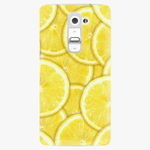 Plastový kryt iSaprio - Yellow - LG G2 (D802B)