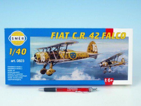 Model Fiat C.R. 42 FALCO 20,9x24,1cm v krabici 31x13,5x3,5cm