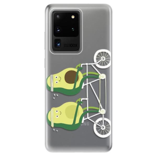 Odolné silikonové pouzdro iSaprio - Avocado - Samsung Galaxy S20 Ultra