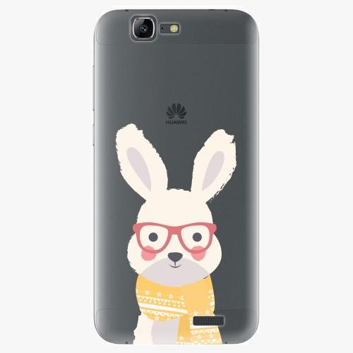 Plastový kryt iSaprio - Smart Rabbit - Huawei Ascend G7