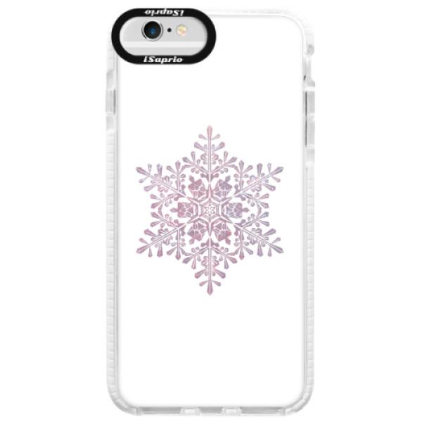 Silikonové pouzdro Bumper iSaprio - Snow Flake - iPhone 6 Plus/6S Plus