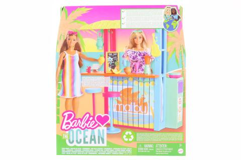 Barbie Love ocean plážový bar GYG23