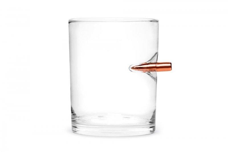 Originální sklenička – neprůstřelné sklo