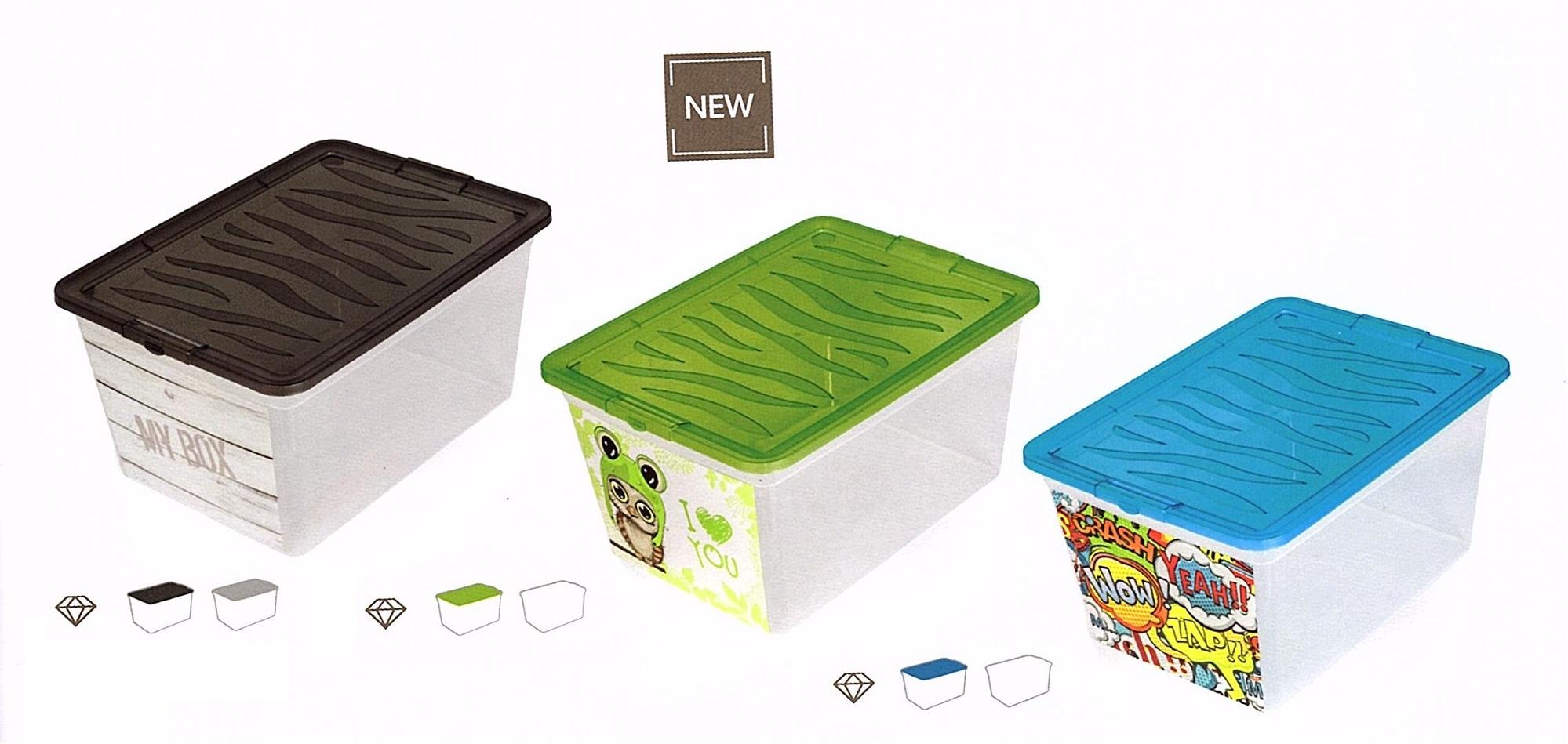 Z-BOX úložný kontejner s víkem 30l