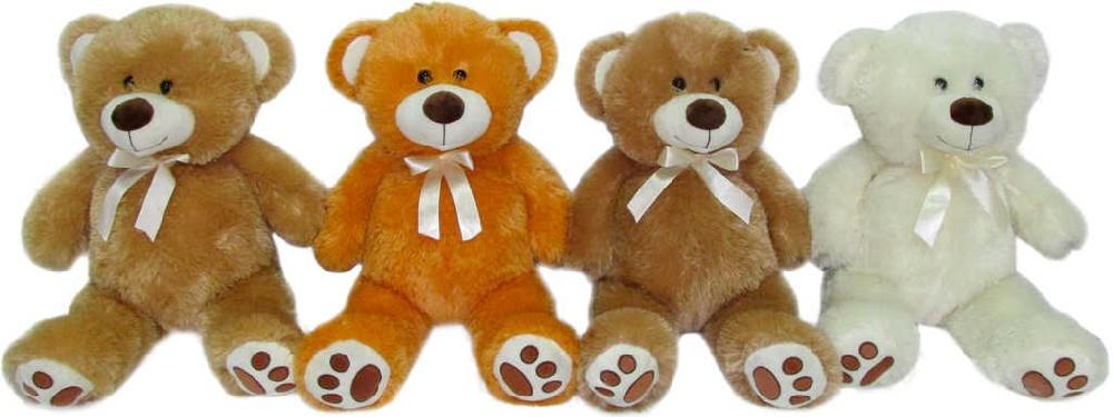 PLYŠ Medvídek s mašličkou 40 cm - 4 barvy