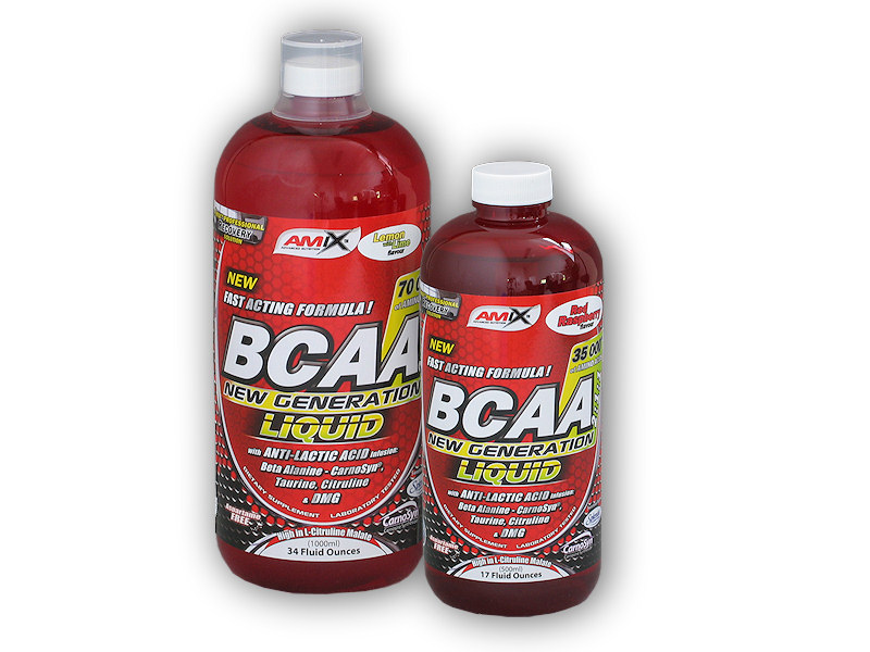 BCAA New Generation Liquid 1l + - 500ml-fruit-punch