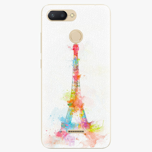 Plastový kryt iSaprio - Eiffel Tower - Xiaomi Redmi 6