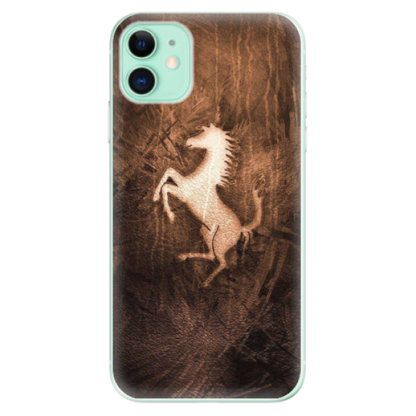 Odolné silikonové pouzdro iSaprio - Vintage Horse - iPhone 11
