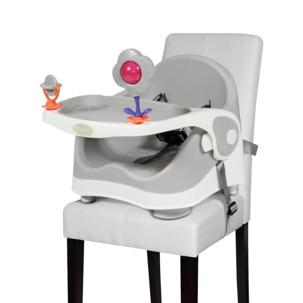 Jídelní židlička Lorelli PIXI GRAY&WHITE