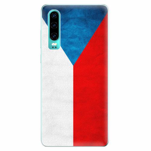 Silikonové pouzdro iSaprio - Czech Flag - Huawei P30