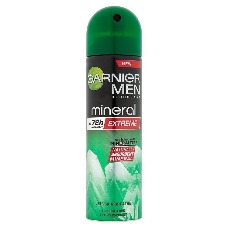 Mineral Men Extreme minerální antiperspirant 150 ml