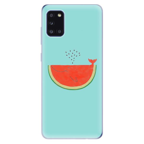 Odolné silikonové pouzdro iSaprio - Melon - Samsung Galaxy A31