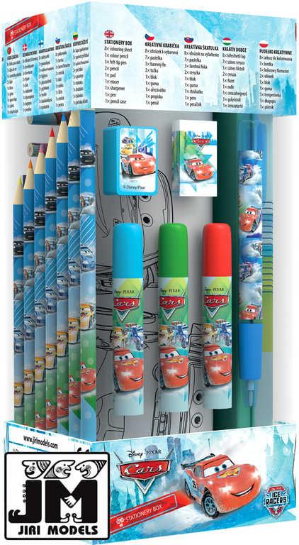 JIRI MODELS Stationery krabička kreativní box Cars (Auta) omalovánky