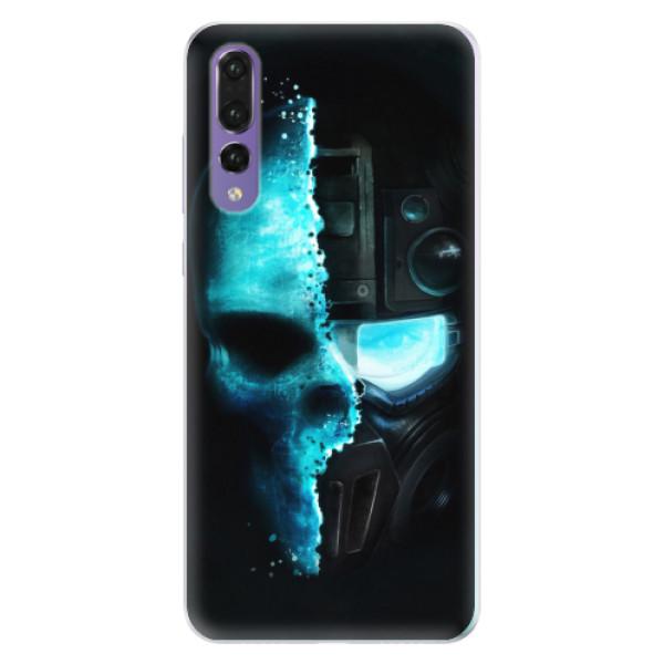 Silikonové pouzdro iSaprio - Roboskull - Huawei P20 Pro