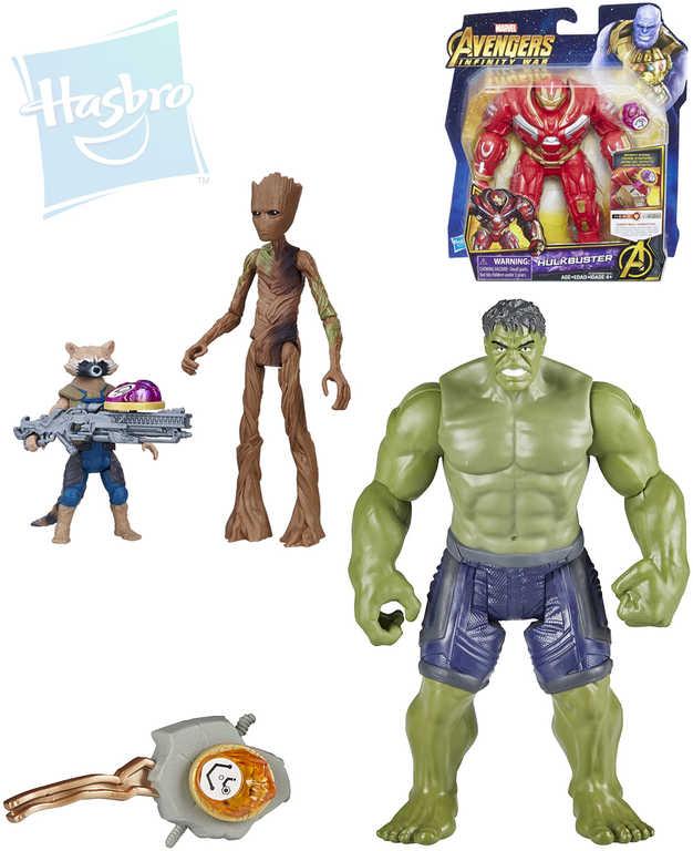 HASBRO Avengers figurka akční hrdinové 15 cm set s doplňky plast - 3 druhy
