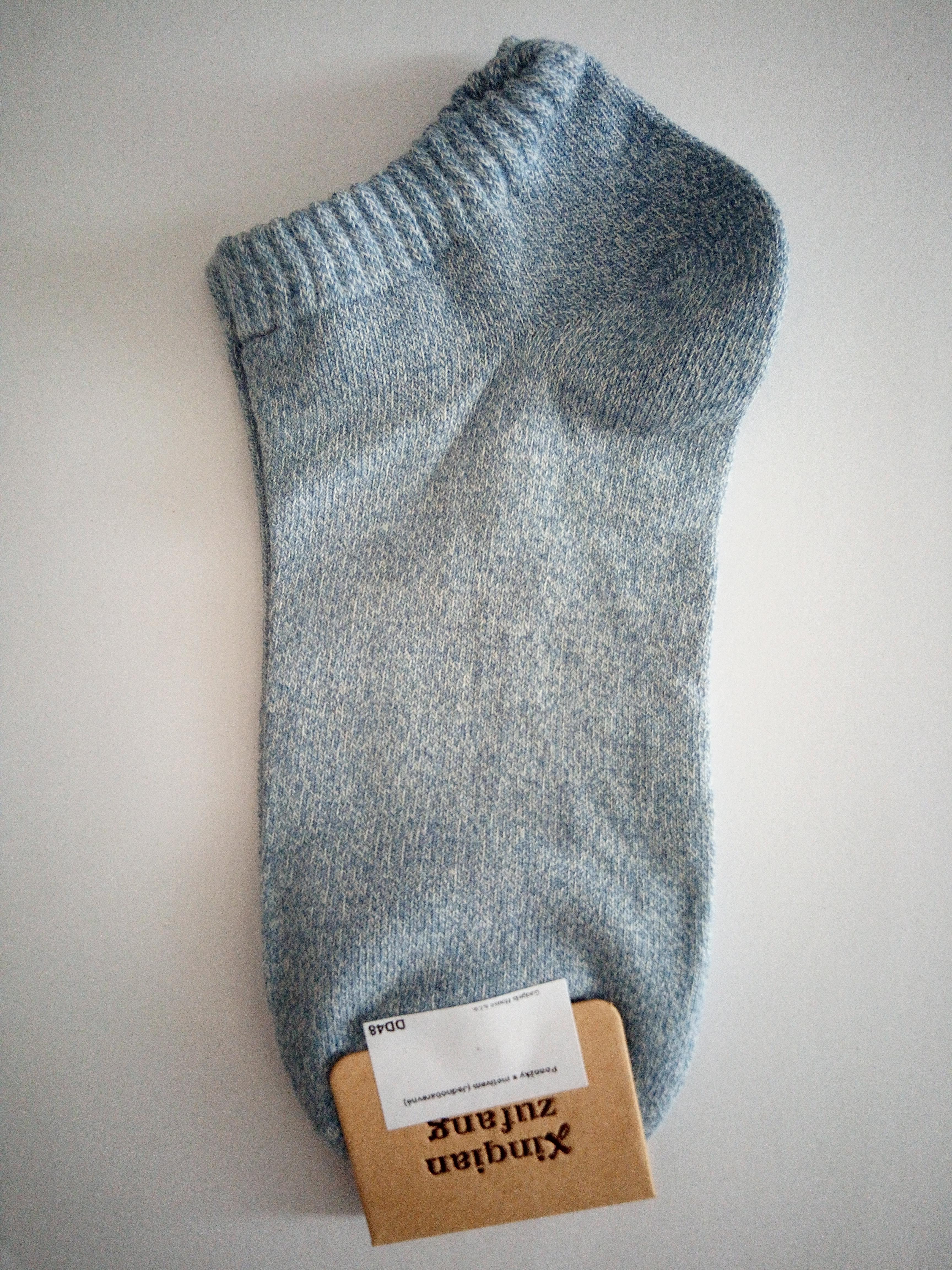 Jednobarevné letní ponožky - Tyrkysová
