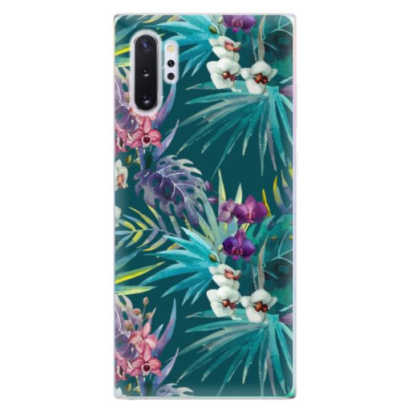 Odolné silikonové pouzdro iSaprio - Tropical Blue 01 - Samsung Galaxy Note 10+