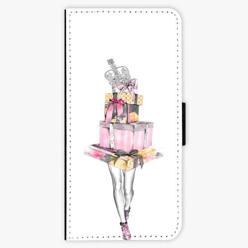 Flipové pouzdro iSaprio - Queen of Shopping - Sony Xperia XA