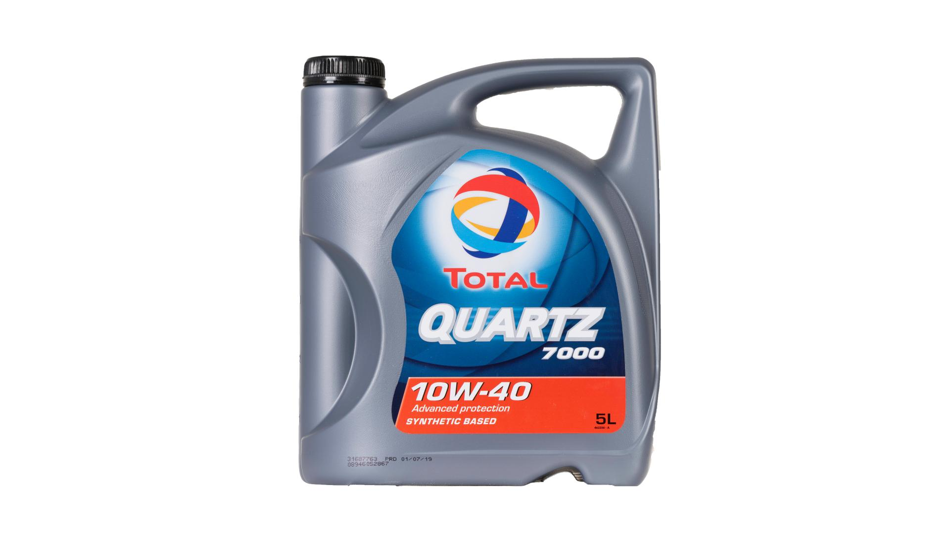 Total 10w-40 Quartz 7000 5L (201525) (203703)