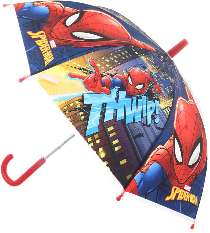 Deštník dětský Spiderman 65x65x60cm manuální