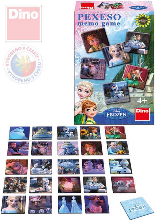 DINO Hra Pexeso Frozen (Ledové Království) *SPOLEČENSKÉ HRY*