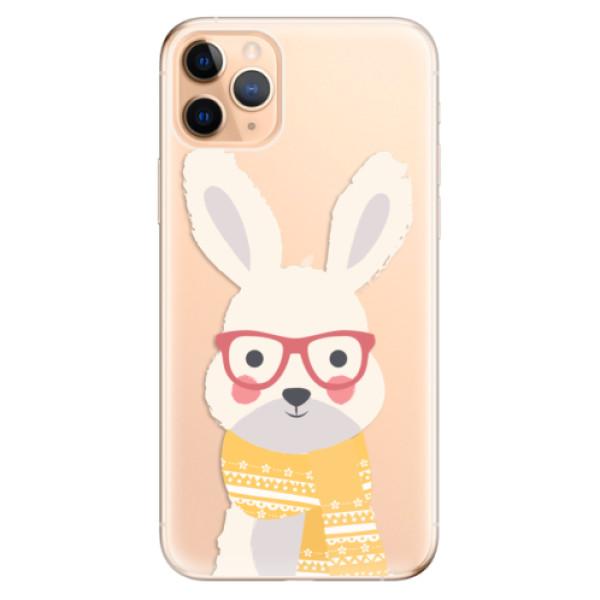 Odolné silikonové pouzdro iSaprio - Smart Rabbit - iPhone 11 Pro Max