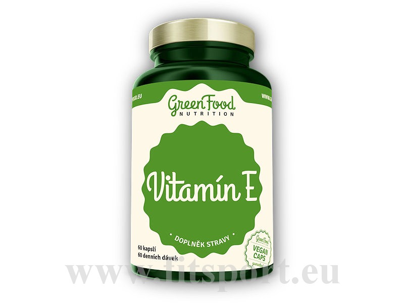 Vitamin E 60 vegan kapslí