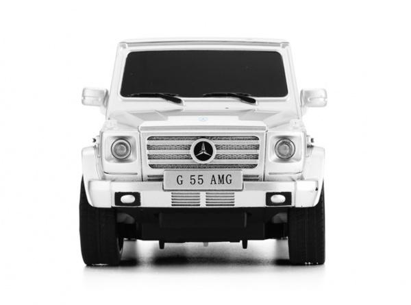 Mercedes-Benz G55 AMG 1:24 - stříbrná