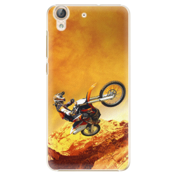 Plastové pouzdro iSaprio - Motocross - Huawei Y6 II