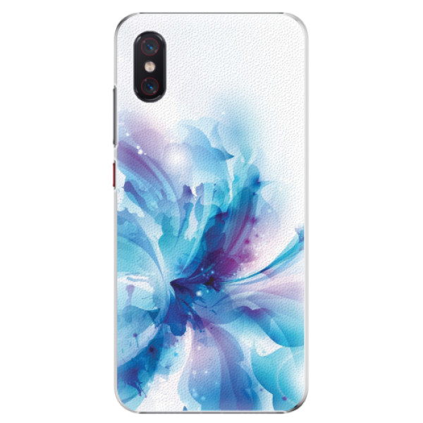 Plastové pouzdro iSaprio - Abstract Flower - Xiaomi Mi 8 Pro