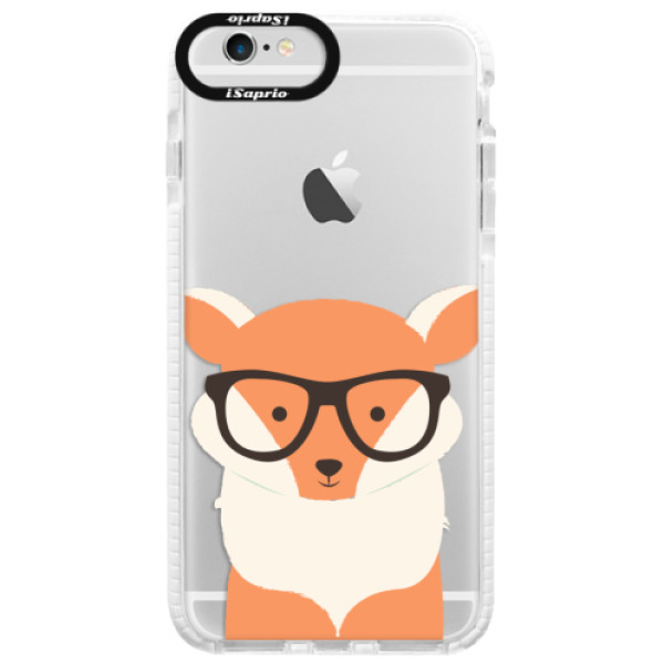 Silikonové pouzdro Bumper iSaprio - Orange Fox - iPhone 6/6S