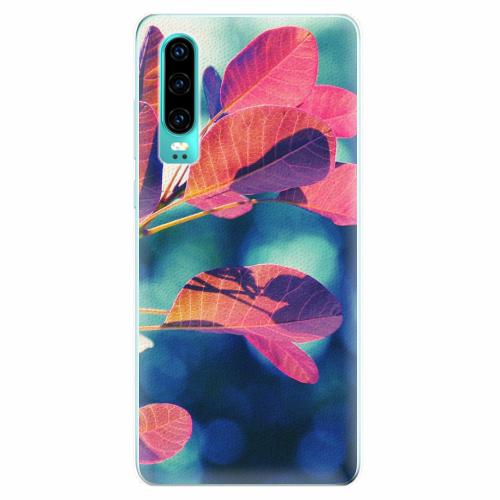 Silikonové pouzdro iSaprio - Autumn 01 - Huawei P30
