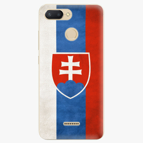 Plastový kryt iSaprio - Slovakia Flag - Xiaomi Redmi 6