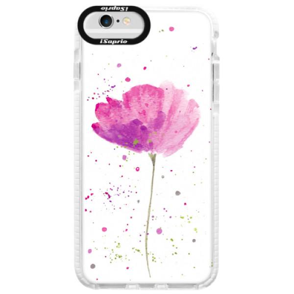 Silikonové pouzdro Bumper iSaprio - Poppies - iPhone 6 Plus/6S Plus