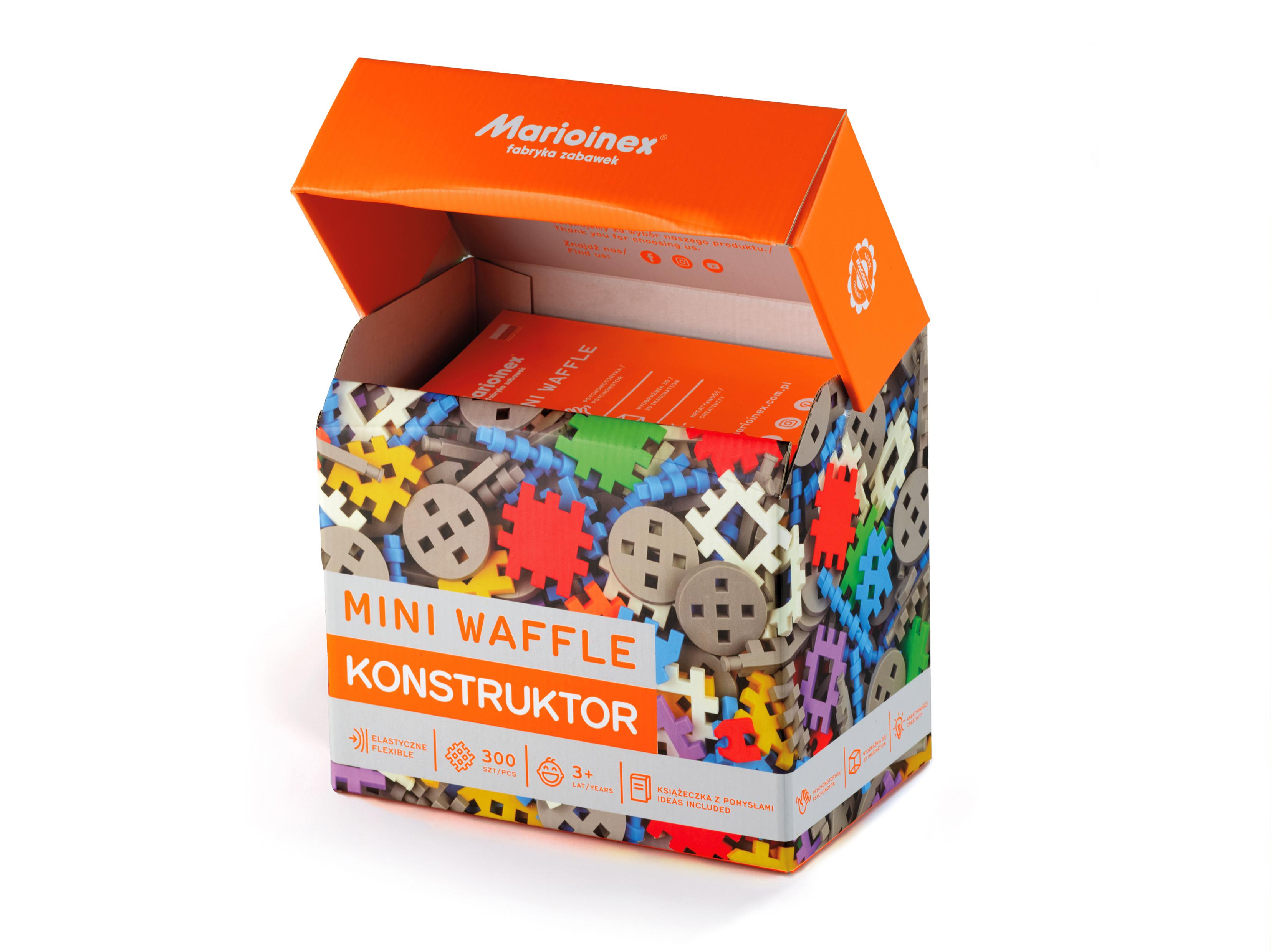 Marioinex MINI WAFLE – 300 ks Konstruktér
