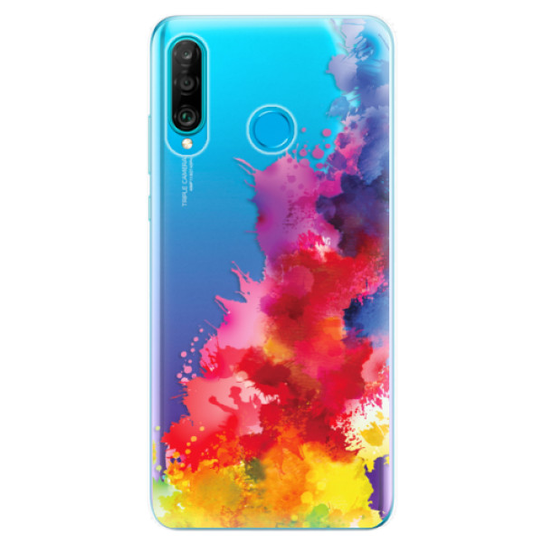 Odolné silikonové pouzdro iSaprio - Color Splash 01 - Huawei P30 Lite