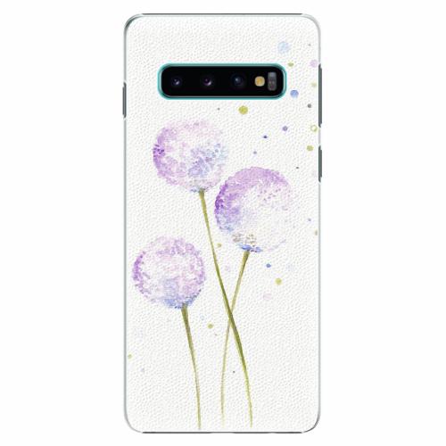 Plastový kryt iSaprio - Dandelion - Samsung Galaxy S10