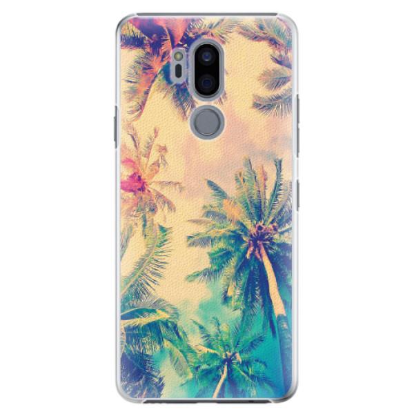 Plastové pouzdro iSaprio - Palm Beach - LG G7