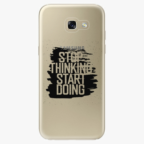 Plastový kryt iSaprio - Start Doing - black - Samsung Galaxy A5 2017